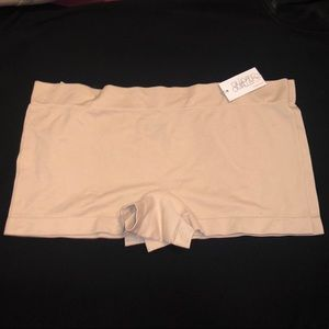 2 Gillian & O'Malley Seamless Boyshorts Panties XL
